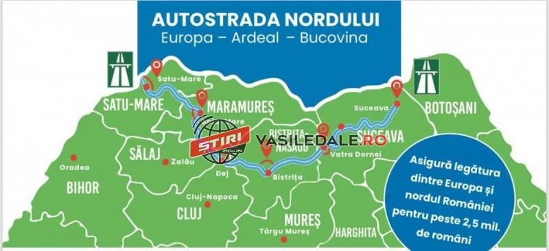 Autostrada Electrică a Nordului: cum vor fi unite Târgu ...  |Autostrada Nordului